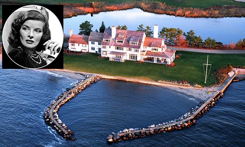 ¿Quieres conocer la casa familiar de Katherine Hepburn en Connecticut antes de que se venda?