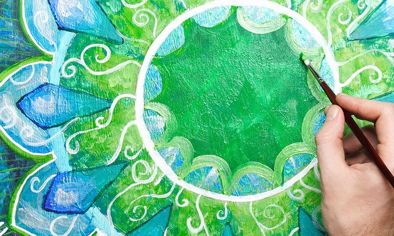 Mandalas para colorear: el poder del amor