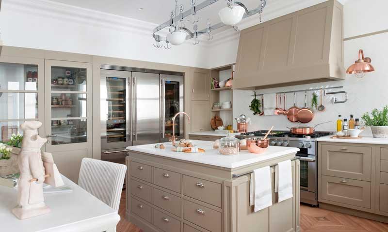 Seis claves para dise ar una cocina a imagen y semejanza - Luminarias para cocinas ...
