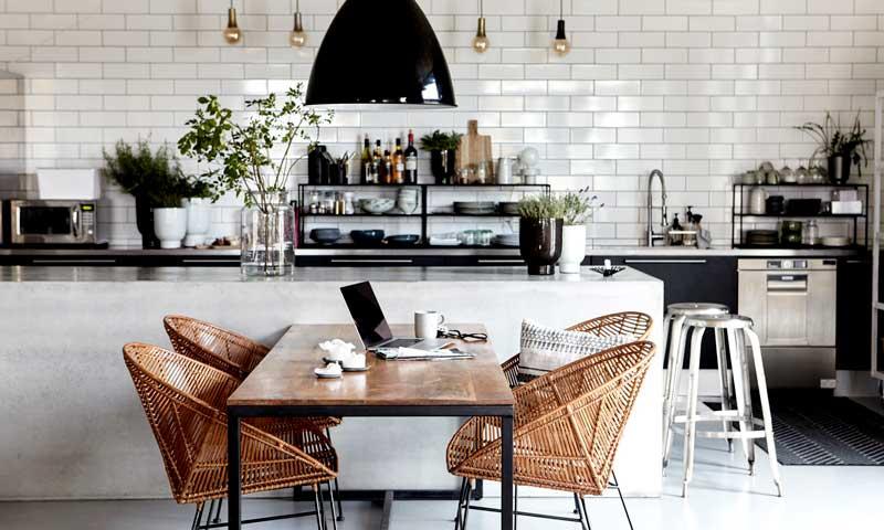 Seis claves para diseñar una cocina a imagen y semejanza de tu familia