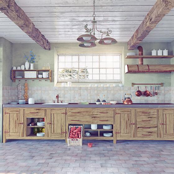Conoce las siguientes ideas para decorar tu cocina de forma \'vintage\'