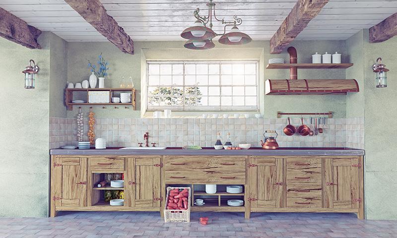 Ideas para dar a tu cocina un 'aire vintage'