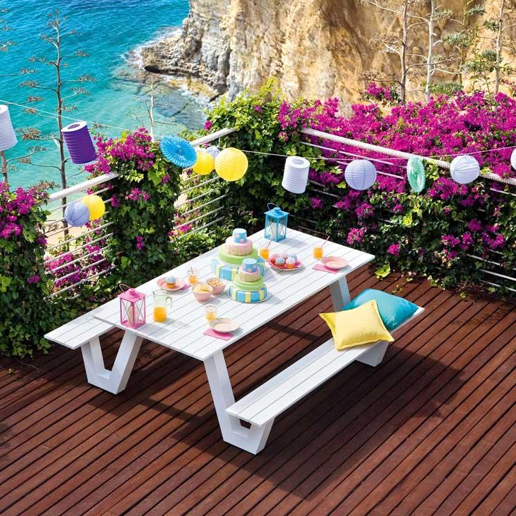 Las Mejores Fotos De Jardines En Pinterest: Montar Una Fiesta En El Jardín