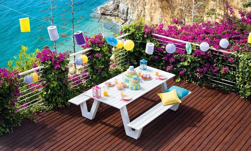 Montar una fiesta en el jard n for Ideas para el jardin reciclando