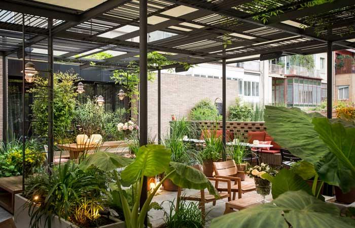 Terrazas para disfrutar el verano for Restaurantes con terraza madrid