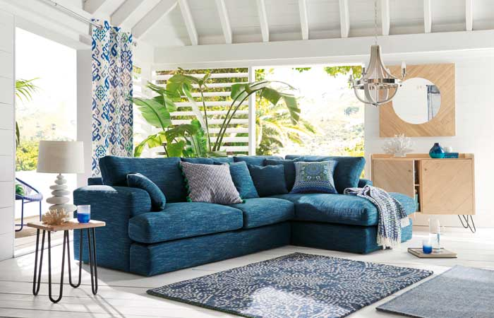 Decorar en azul