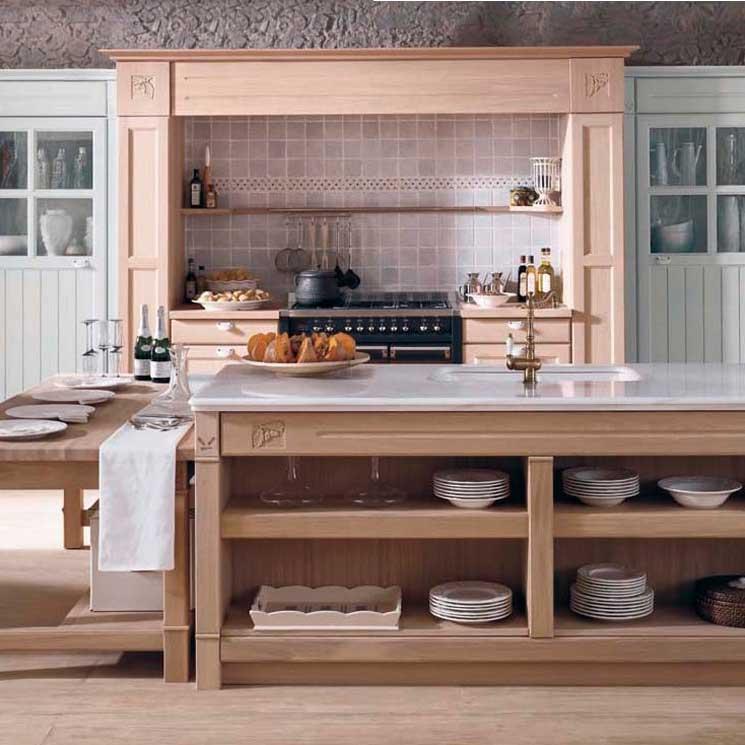 Cocinas con aire rústico - Foto