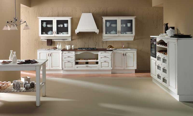 Cocinas con aire r stico del campo a la ciudad foto 6 - Muebles rusticos en blanco ...
