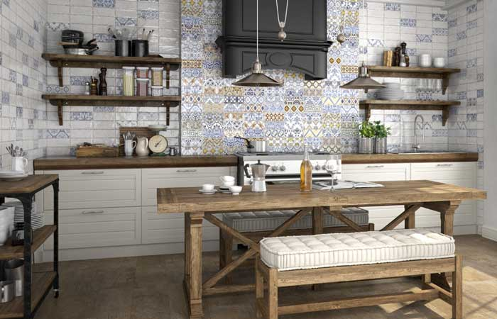 Cocinas con aire r stico - Fotos de cocinas rusticas de campo ...