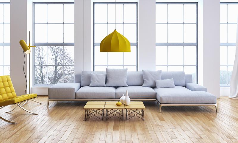 Sofas Indispensables En Un Salon Moderno Y Vanguardista Foto