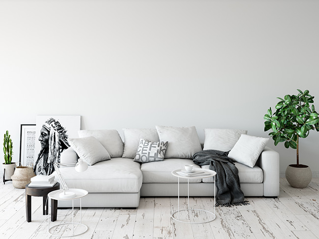 Sofás indispensables en un salón moderno y vanguardista