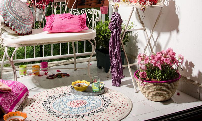 Montar el sal n al aire libre - Objetos decoracion vintage ...