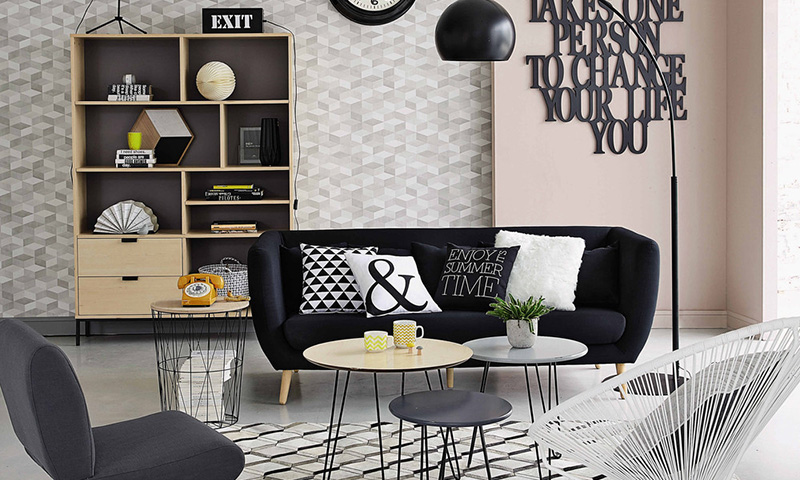 viste tus paredes este invierno con las propuestas de maisons du monde. Black Bedroom Furniture Sets. Home Design Ideas