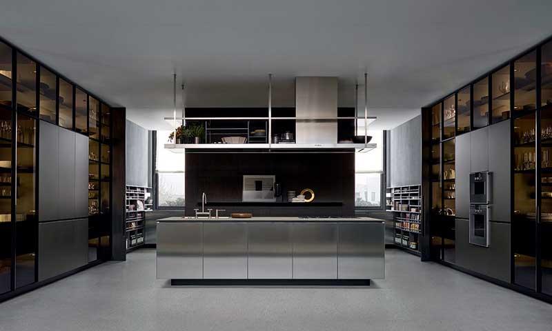 12 cocinas llenas de lujo y elegancia foto - Cocinas de lujo modernas ...