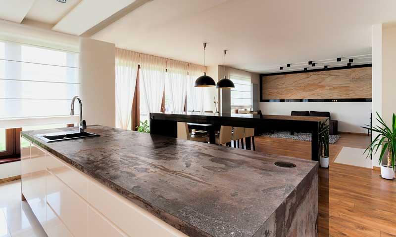 Ideas para convertir la cocina en una de las estancias con for Cocinas de lujo