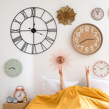 Que el tiempo se pare con los relojes decorativos de for Relojes decorativos para salon