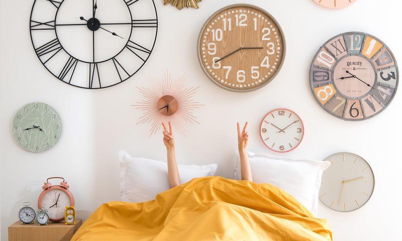 Que el tiempo se pare con los relojes decorativos de Maisons Du Monde
