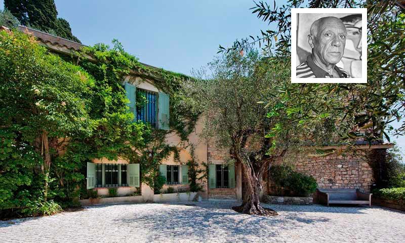 El refugio del artista as es la casa de la provenza donde picasso vivi y trabaj hasta su - Casas en la provenza ...
