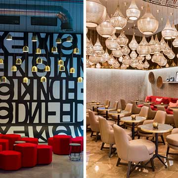 39 tour deco 39 hoteles con una decoraci n y un interiorismo for Hoteles con habitaciones para cinco personas