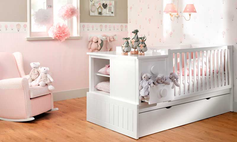 C mo decorar las habitaciones para beb s foto 1 - Habitaciones bebe pequenas ...