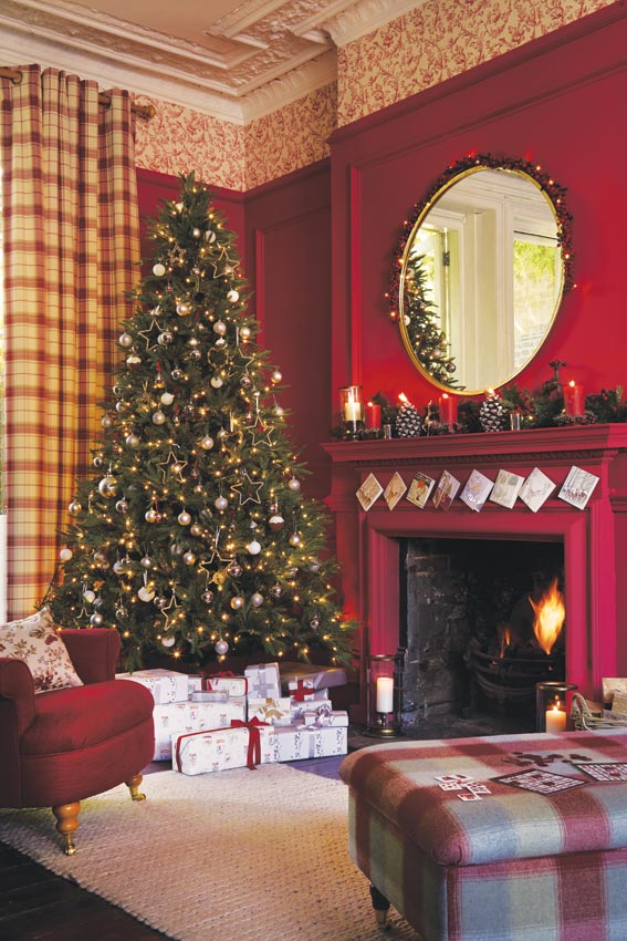 Cuatro estilos para decorar tu casa por navidad foto - Navidad decoracion casas ...