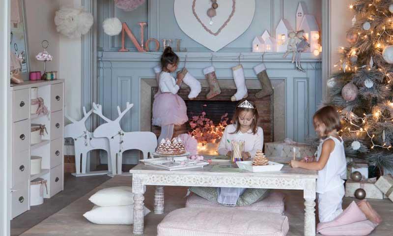 Ideas decorativas para que mires la Navidad con los ojos de los más pequeños de la casa