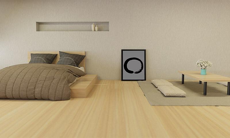 La tranquilidad reinar en tu dormitorio si sigues el estilo oriental