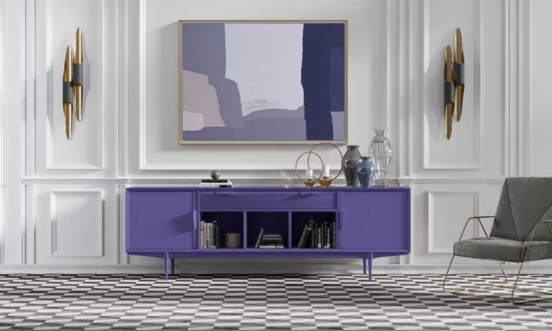 Pantone 'dixit': el color del 2018 es el 'Ultra Violet'