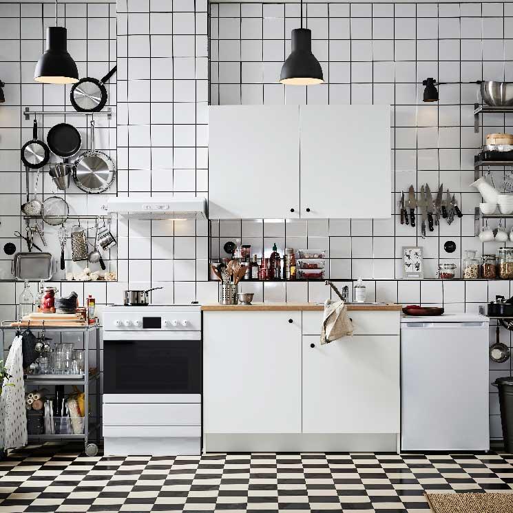 Cómo sacar partido a las cocinas pequeñas - Foto