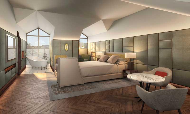 Seis hoteles con una decoraci n y un dise o de cinco Hotel lujo sierra madrid