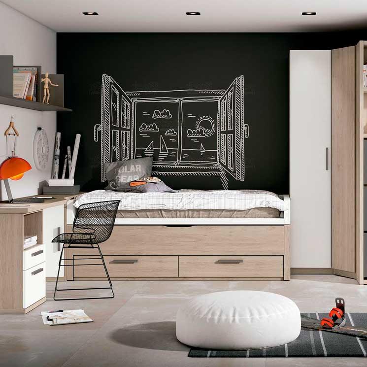 claves para decorar las habitaciones juveniles On ambiente deco habitacion para adultos