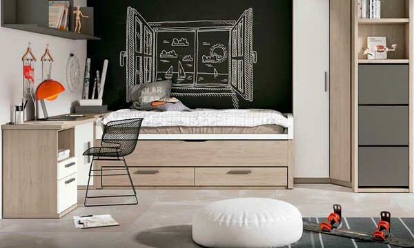 ideas de dormitorio con temática de fútbol Claves Para Decorar Las Habitaciones Juveniles
