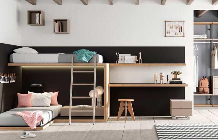 Claves para decorar las habitaciones juveniles for Decoracion de interiores recamaras para adultos