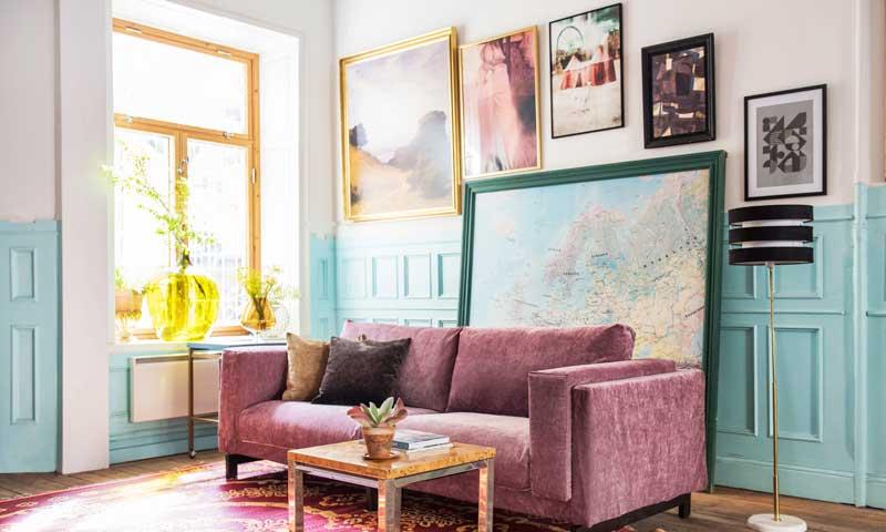 Cómo colgar fotografías o cuadros y dar vida a tus paredes - Foto