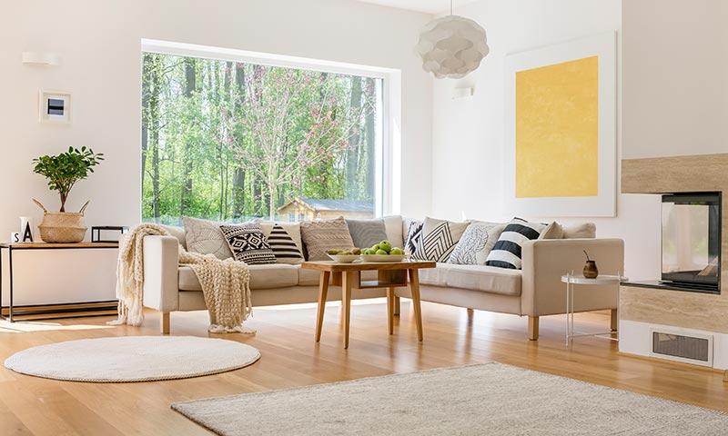 Trucos para alquilar o vender tu casa en la mitad de for Accesorios decoracion salon