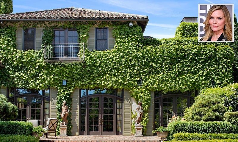 Michelle Pfeiffer vende su espectacular mansión de California por más de 23 millones de euros