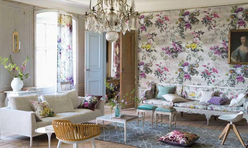 Estos papeles pintados vestir n tu casa esta temporada foto - Maison decor papeles pintados ...