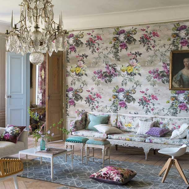 Decoraci n de interiores y exteriores decora tu casa hola - Maison decor papeles pintados ...