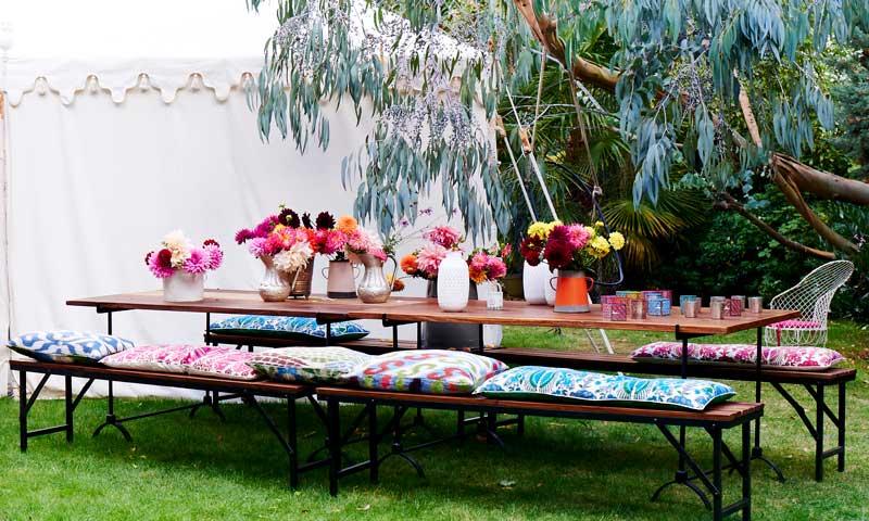 13 ideas para que tus fiestas en el jard n sean un xito - Fiesta en el jardin ...