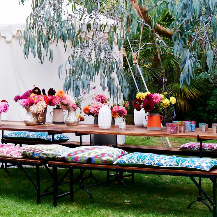 C mo montar tus fiestas de temporada en el exterior foto 1 - Decoracion en jardines ...