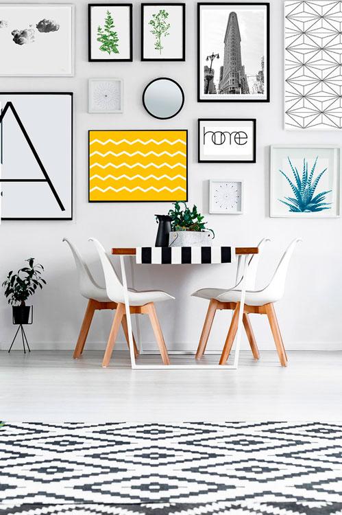 4 ideas para cambiar la decoración de tu casa por poco dinero