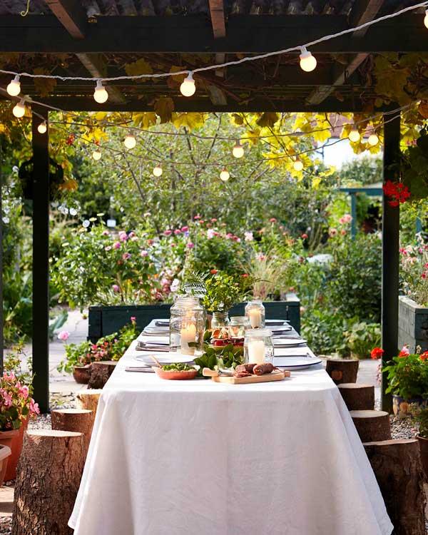 Claves para iluminar jardines y terraza Iluminacion de terrazas exteriores