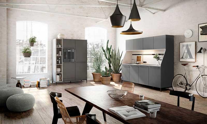 Cómo incorporar el comedor a la cocina - Foto
