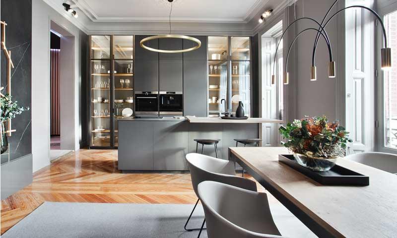 C mo incorporar el comedor a la cocina foto for Ideas de cocina comedor