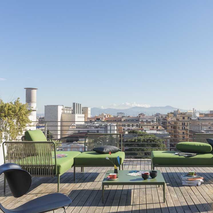 C mo lograr una terraza con encanto foto for Jardines con encanto ideas