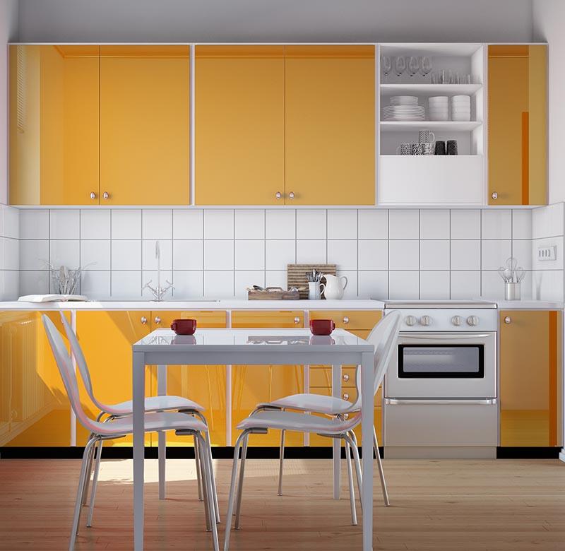 10 ideas para aprovechar el espacio de una cocina peque a for Mesadas de cocina pequenas