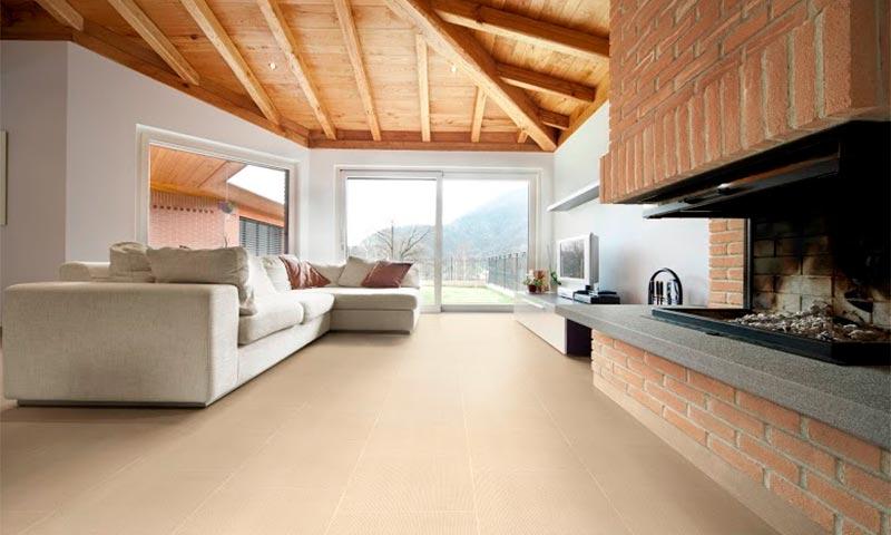 El 'look cemento' viste la casa con un atractivo aire industrial