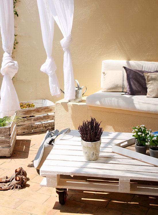 Ideas para decorar tu casa con objetos reciclados - Reciclaje de la madera ...