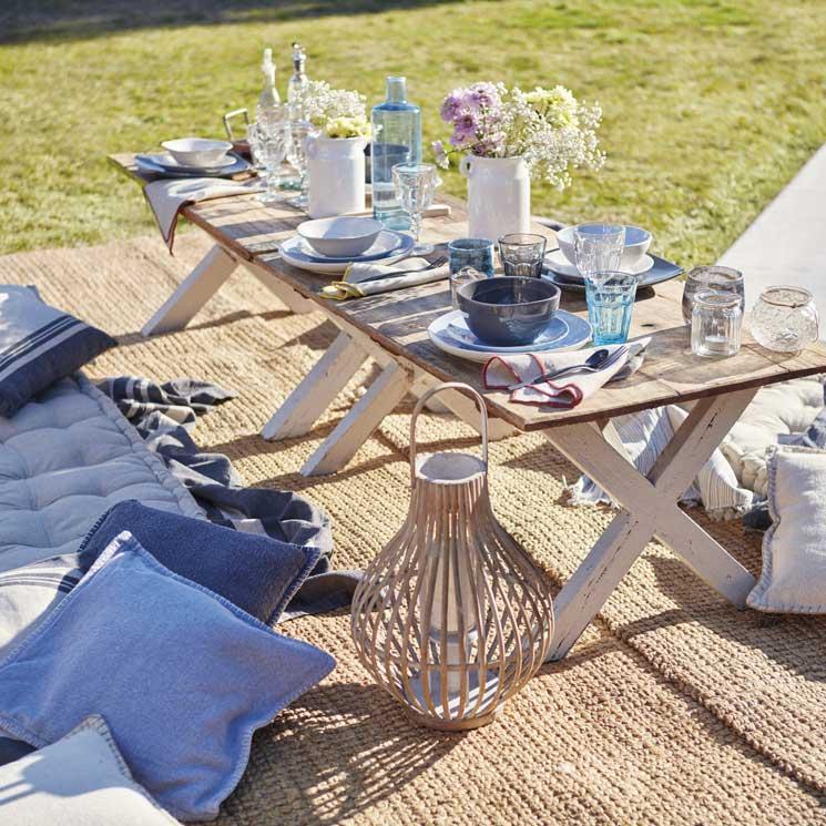 Claves para montar un comedor en tu terraza o jardín - Foto
