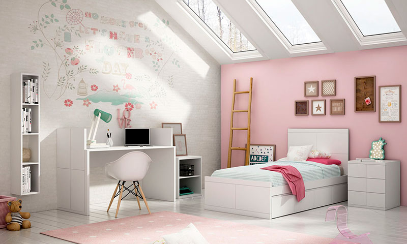 Ideas Para Decorar El Dormitorio De Los Ninos - Decorar-habitacion-nios